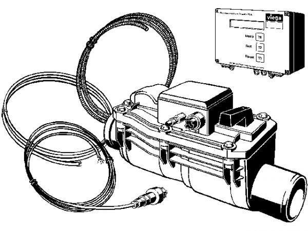 Viega Rückstausicherung Grundfix Plus Control, Mod. 4987.41