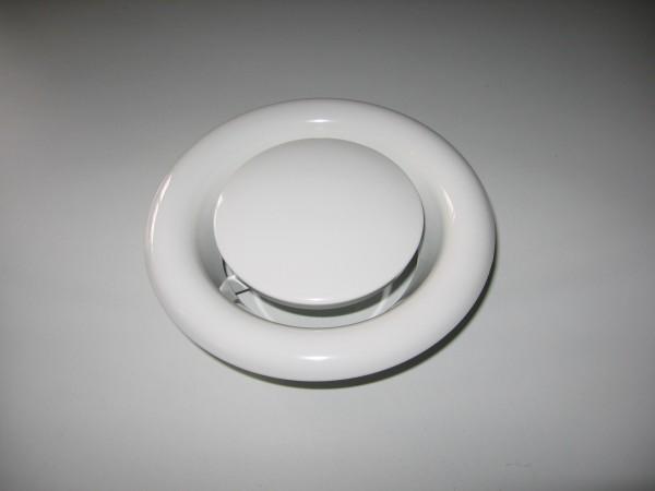 Tellerventil aus Metall DN 100, Abluft