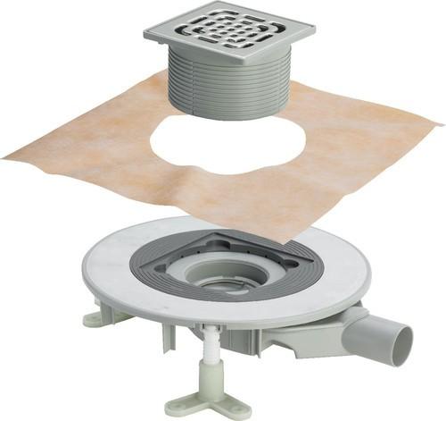 Viega Badablauf Advantix Top, Mod. 4914.21, Aufsatz 150x150mm
