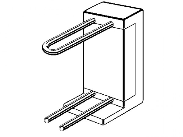 Viega Raxofix Heizkörper-Anschlussblock, Mod. 5937.6