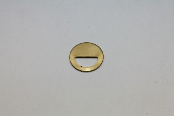 Suevia Formscheibe aus Messing, Nr. 102.1398 zu Mod. 41A
