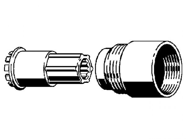 Viega Verlaengerungsset 6162.96 631864, bis 30mm, f. Multiplex u. Rotaplex