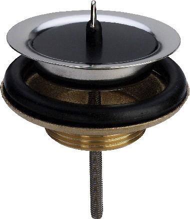 "Stopfenventil mess. (G 2"") x 80 mm, Mod. 7122, Nr. 116354"