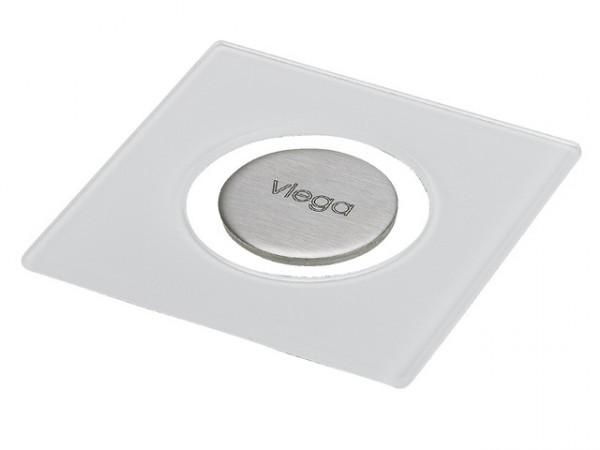 Viega Rost Visign RS5, 4976.21, 143 x 143mm, 617158, aus ESG klar/schwarz