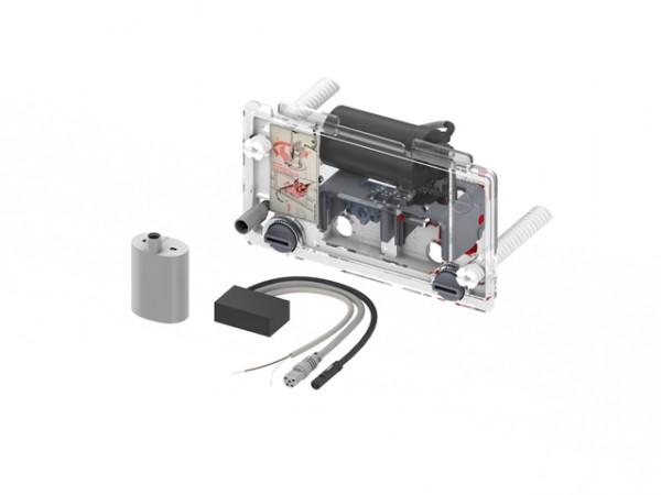 TECEplanus WC-Fernauslösung, kabelgebund. Elektrotaster, 6 V-Batterie