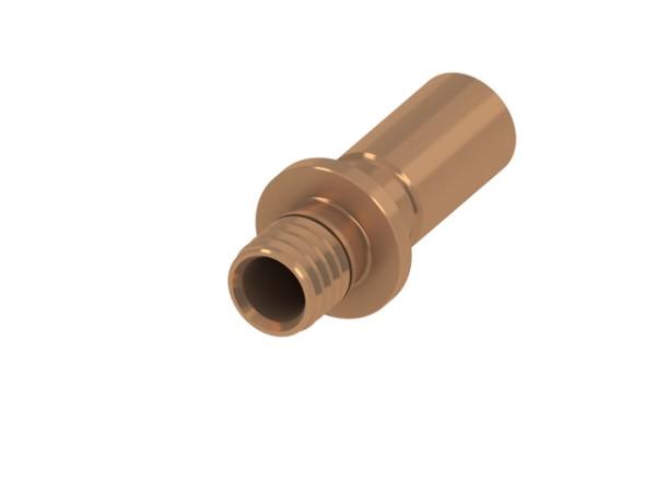 TECEflex Pressloetanschluss auf Kupfer-Rohr