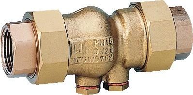 Honeywell Rückflussverhinderer RV281, Messing A