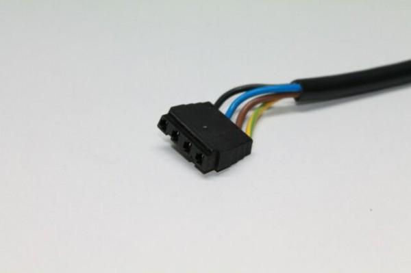 Anschlusskabel 4-pol., 500mm, zu Oelvorwärmung Danfoss / Satronic