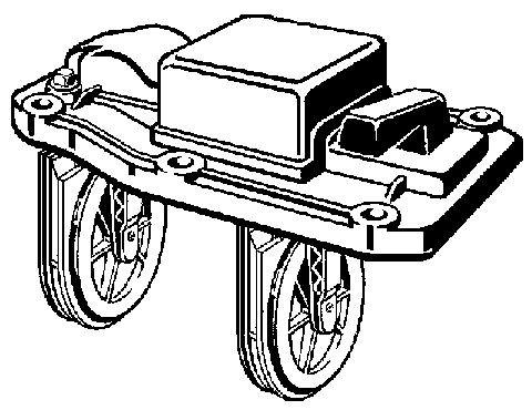 Viega Umrüstsatz, Mod. 4987.38, m.3-facher Rückstausicherung