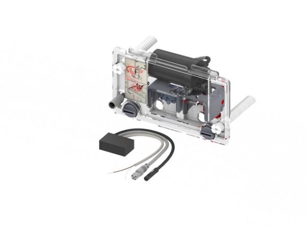 TECEplanus WC-Fernauslösung, kabelgebund. Elektrotaster 230/12V Netz