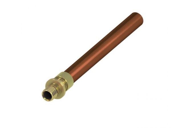 TECEflex Systemübergang auf Kupfer-Rohr