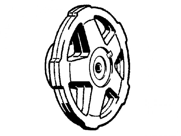 Viega Easytop Griff, 2237.3XL, DN 65-100, 654443, aus Kunststoff