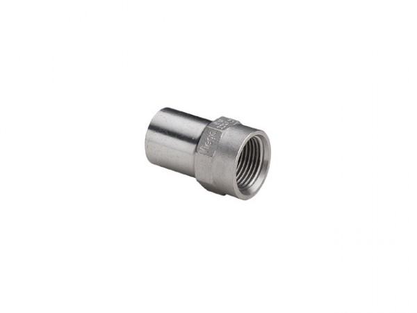 Viega Sanpress-Inox Einsteckstück IG, Mod. 2312.1, aus nichtrost. Stahl