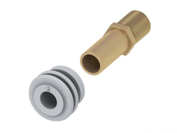 TECEprofil Zulaufgarnitur für Urinal