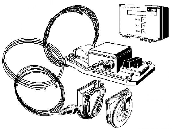 Viega Umrüstsatz, Mod. 4987.419, zur Nachrüstung
