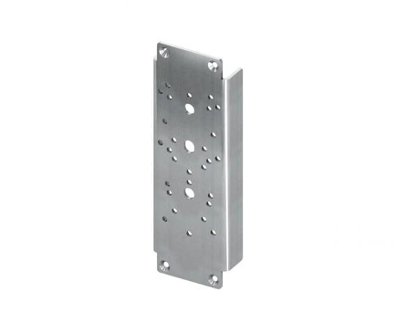 TECEprofil Stahlplattenset zur Aufnahme von Stützklappgriffen A