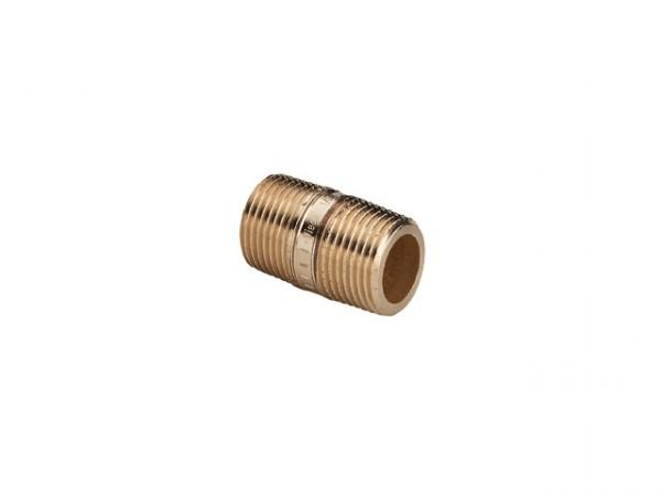 """Rohrdoppelnippel 3//4/"""" Zoll x 100 mm DN20 Messing Rohr nippel Langnippel"""