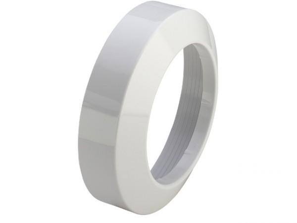Viega WC-Rosette 3819, 110mm Durchmesser, Höhe 50mm, PVC weiss