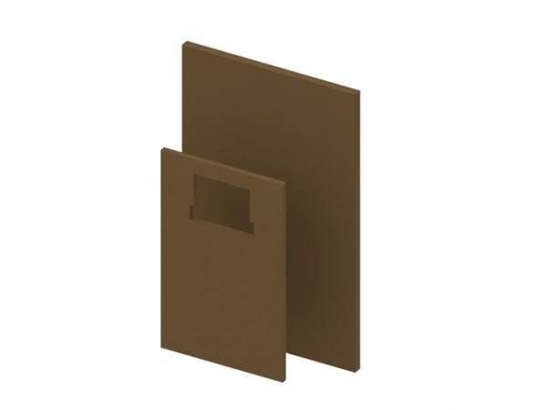 TECEprofil Brandschutzset für Standard Spülkasten 1000x625x30mm, 711x440x20mm