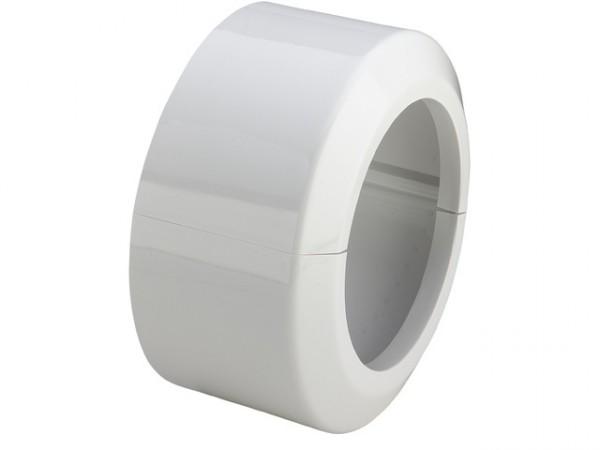 Viega WC-Klapprosette, Mod. 3821, Höhe 90mm, PVC