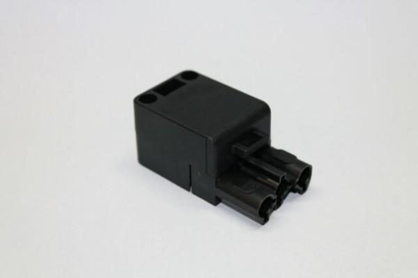 Kupplung 3-polig, schwarz