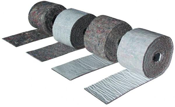 Kaiflex Vliess-Streifen grau, selbstklebend, Rolle 3,60 m