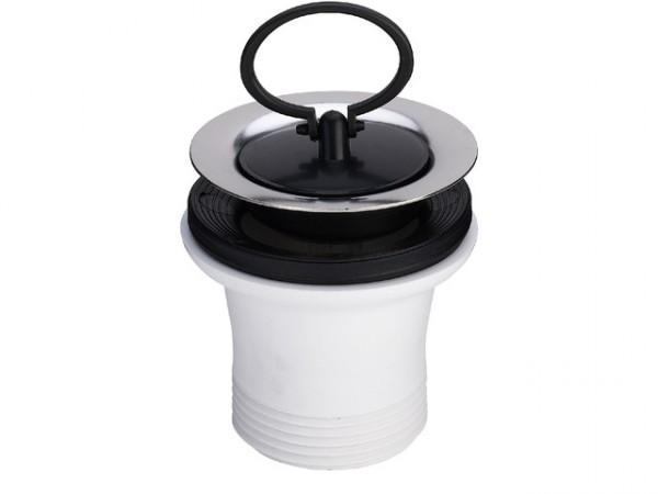 Viega Spueltisch-Ventil 7622.31, 11/2 x 70 104849, mit Ring, Hoehe 55mm, Kunststoff