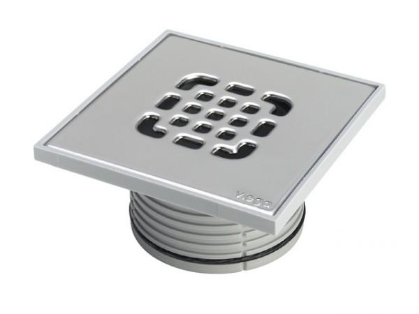Viega Aufsatz 150x150mm, Mod. 4934.4, m. Kunststoff-Rahmen