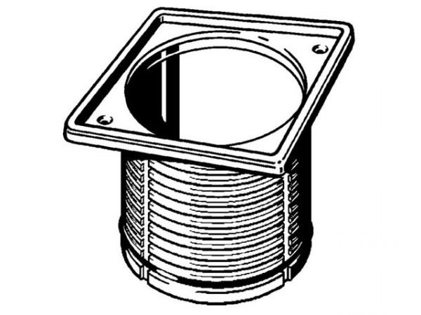 Viega Aufsatzrahmen, Mod. 4949.1, m. Edelstahl-Rahmen