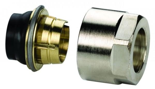 "Simplex Anschluss-Set F11, 12 x 1 mm, 3/4"", F11121, vernickelt"