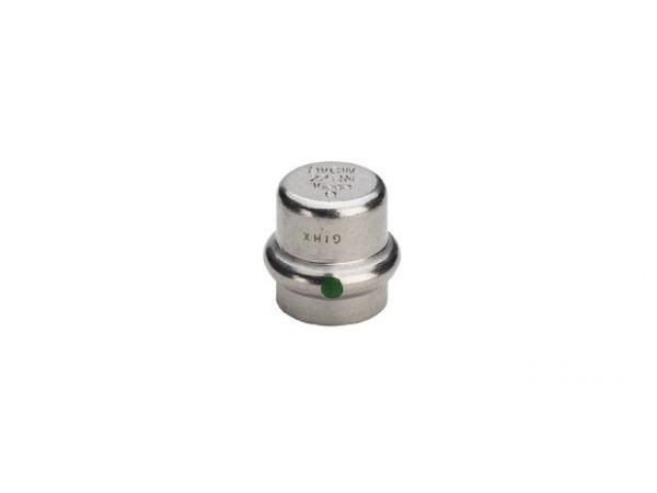 Viega Sanpress-Inox Verschlusskappe, Mod. 2356, aus nichtrostendem Stahl
