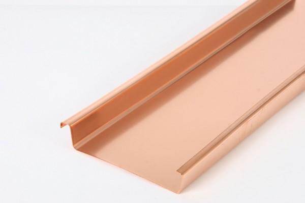 Kupfer-Scharen, Import, 500/430mm, Stärke: 0,60mm