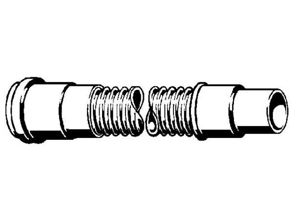 Viega Abflussrohr, Mod. 3892, flexibel, mit Lippendichtung