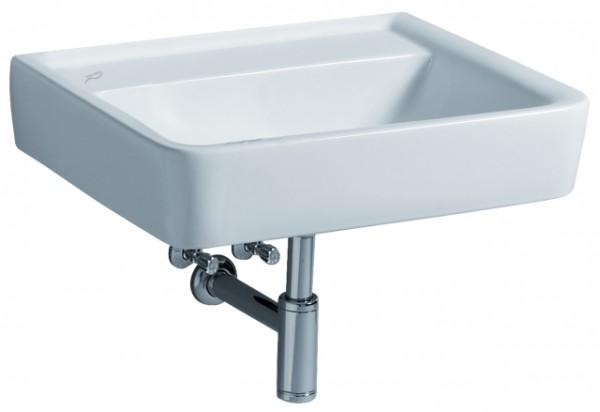Keramag Waschtisch Renova Nr. 1 Plan 222256 550x440mm ohne Hahnloch