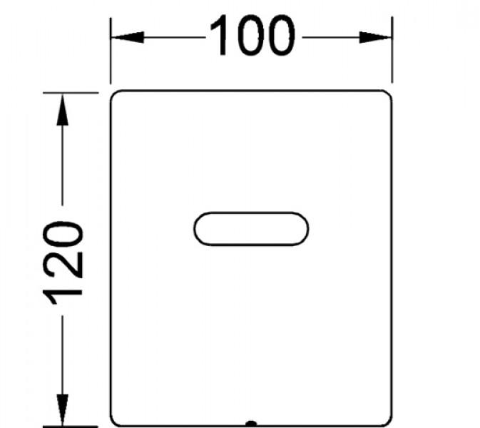 teceplanus urinalelektronik 6 v batterie. Black Bedroom Furniture Sets. Home Design Ideas