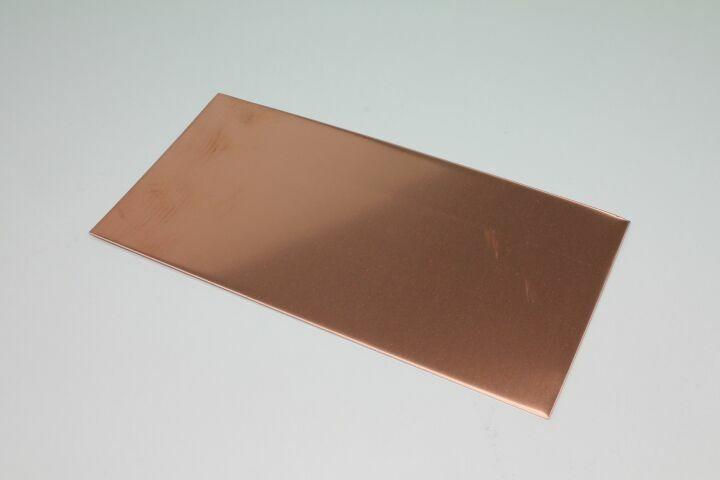 kupfer blech import st rke mm tafel 2000 x 1000 mm. Black Bedroom Furniture Sets. Home Design Ideas