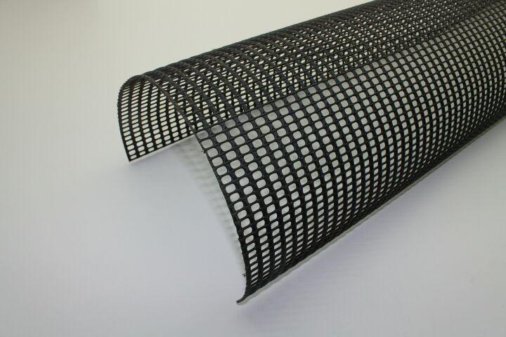 poly net laubstop schwarz aus kunststoff halbrund. Black Bedroom Furniture Sets. Home Design Ideas