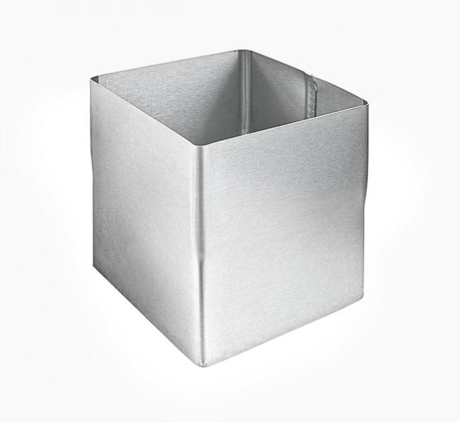 Fallrohr eckig auf rund  Titanzink Kasten-Fallrohr-Steckmuffe quadratisch, walzblank | Zink ...