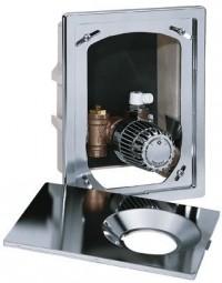Heimeier UP-Kasten Multibox K, mit Thermostatventil, verchromt