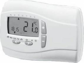 Logafix Digitaler Raumtemperatur-Regler DRT 401, 230V, EL1-8040