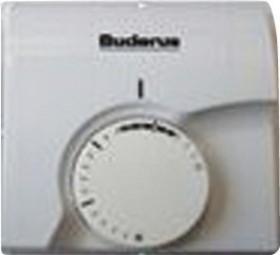 Logafix Raumthermostat AP, 230V, IP51, weiss, m. Montagezubehör
