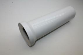 WC-Anschlußstutzen DN100 x 400 mm, weiss